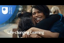 Life-changing Learning / All about how the OU changes peoples' lives.