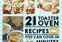 Toaster oven meals