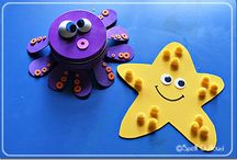 under the sea crafts / by Tina Kaul