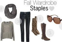 Fall Wardrobe Style
