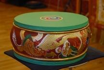 Ritual drums / Tambores rituais
