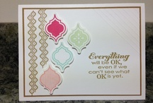 Stampin' Up!  / Projects that other people have done using Stampin' Up Products