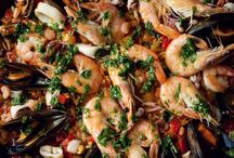 { SEAfood paella recipes } / SEAfood paella recipes