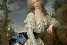 XVIIIe - Chemise à la reine