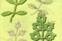 мотив листья