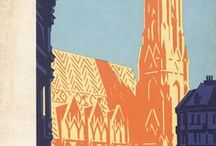 Vintage ταξιδιωτικές αφίσες