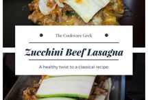 Lasagna / Layers and layers of flavor!