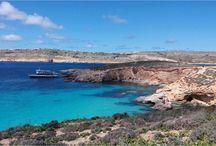 """Malta / """"Historia, playas y costas espectaculares, aguas cristalinas y mucha fiesta..."""" #malta"""