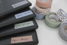 Dekortapasz rendszerezés - Washi tape organization