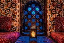 My andalousian inspiration / middle eastearn designs,  arabic architecture, arabic fashion, moroccan fashion, relax, andalousian touch and middle eastern home corners