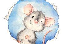Små søde mus