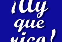 ¡Ay qué rico! Comidas caseras / Comidas caseras. Llévatelas a casa. c/Juez Braulio Sena (frente a Churrería del Mercado) Llámanos: 953 660 997 / by Te atiendo... ¡Tu tienda!