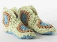 Crochet slippers / by Linda Juhl