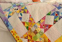 Scrappy Quilt Inspiration / This is one of my boards which has nothing to do with books or writing. One of my hobbies when I am not editing, promoting, or writing romance is quilting. I am particularly fond of scrap quilts.