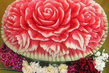 arte nella vedura frutta