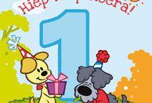 verjaardag 1 jaar