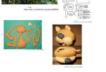 šití - hračky, dekorace, střihy