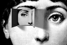 .Fornasetti / #Piero #fornasetti #girl #bw #art #illustration #etching #pierofornasetti #surrealism #italian #linacavalieri