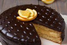 torta arancia e cioccolata