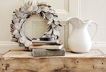 Pallet wood table antique