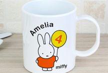 Personalised Miffy Gifts / Personalised Miffy Gifts for Children https://justtherightgift.co.uk/miffy-919.html