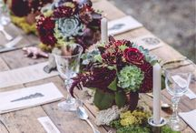 tablescape / wedding reception tablecape ideas from simple to sophisticated to fall in love with