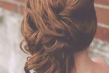 esküvő, frizurák