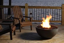Firepits & Outdoor Fireplaces / Designs ideas for outdoor living including fireplaces, firepits and heaters