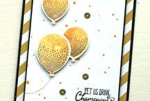 Balloon Celebration Card Ideas / by Laurie Graham: Avon Rep