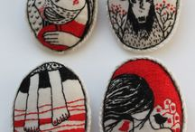 Textile Art / Tiny stitches, large expression