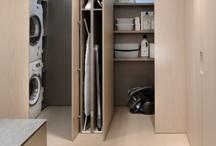 Ideeën strijkruimte + washok