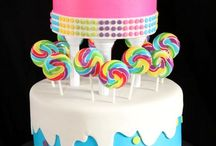 Candy themed cake / by Lachelle Anderson
