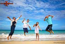 Oahu Beach Jump Shots