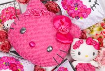 "Perfectly Pink / Pink is a state of mind and emotion even more than a color swatch. As Yuko Yamaguchi, Hello Kitty's designer since 1980, says, ""Pink makes you happy!"". / by Hello Kitty"