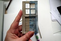 Miniature Windows / windows shutters