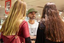 Meet & Greet Dengaz / O artista esteve no El Corte Inglés LRG Clothing para um meet & greet com os fãs!