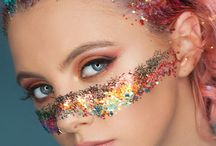 THE PARADISE COLLECTION - IN YOUR DREAMS / Inspired by vibrant, kaleidoscopic hues from the sun at dusk in a tropical paradise, our new collection of jewels & glitter bring a taste of golden beach and blissful sky to your party look. Additionally debuting our eco-friendly innovation – biodegradable glitter! Ensuring your new glam look causes no harm to the paradisiacal places it draws inspiration from. Also launching into the beauty market is our long-awaited Glitter Beauty Balm, a must-have protective glitter primer and general use balm