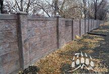 RhinoRock Concrete Fencing