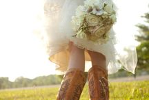 Country wedding inspiration board