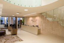 Delegat's Wine Estate Headquarters - Auckland New Zealand / Glass balustrades.