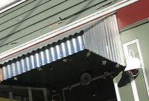 roofs and awnings / by Brenda Gauze