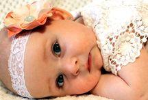 Fejpántok babáknak, kislányoknak- colorita design / Kézzel készült habvirágokból álló fejpántok.