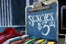 flea market booth display ideas