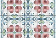 γεωμετρικα λουλουδια  4