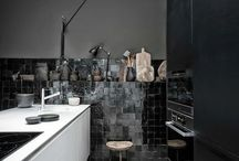 Industrial Kitchens / A selection of some of the best industrial style kitchens.