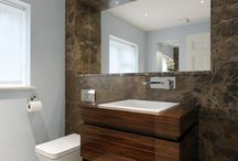Perfect Cloakroom Ideas / How to create your perfect cloakroom, top tips on everything from the best lighting to which tiles you should use.  How to make the room looker bigger.