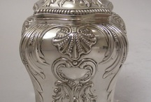 Argint & Argintate, Aur & Aurite / Obiecte din argint si argintate / by Marinescu Luminita