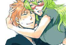 Ichigo and Neliel
