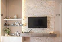 テレビ横デザイン