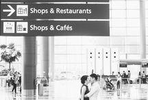 Bröllop flygplats